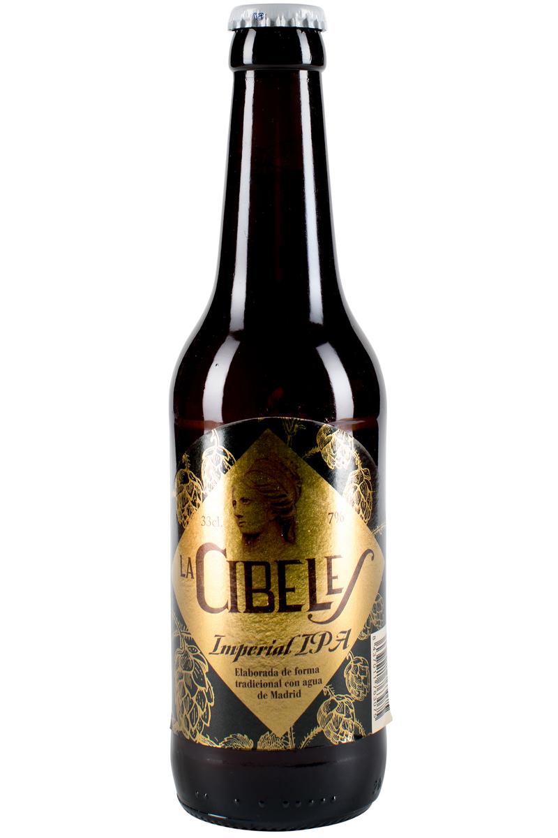 Cerveza La Cibeles Imperial IPA 7% 33cl