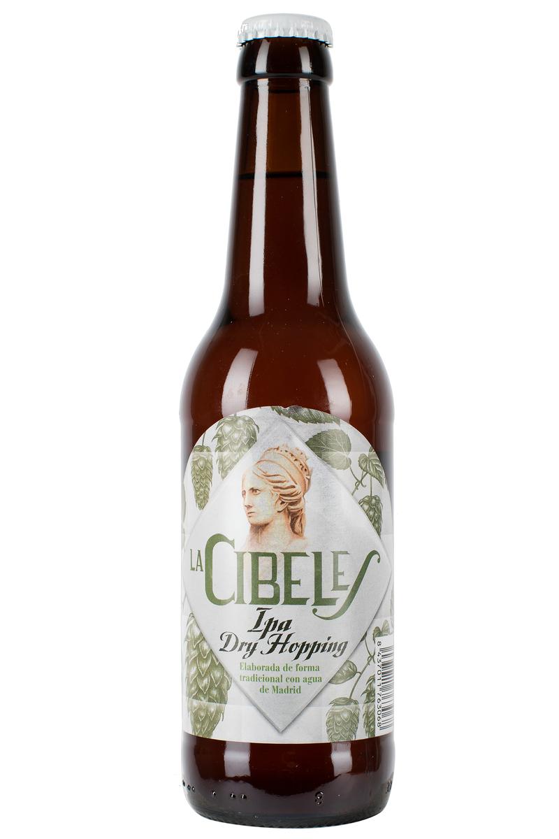 Cerveza La Cibeles IPA DryHopping 5,1% 33cl