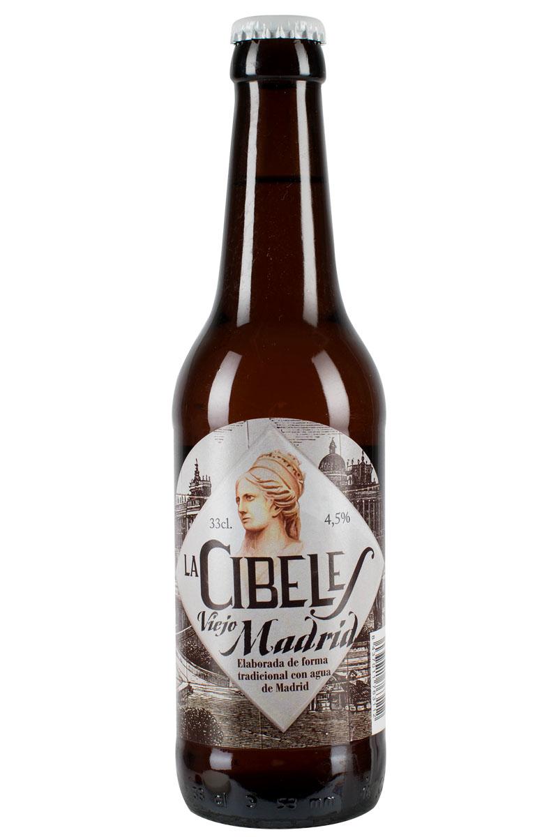 Cerveza La Cibeles Viejo Madrid 4,5% 33cl