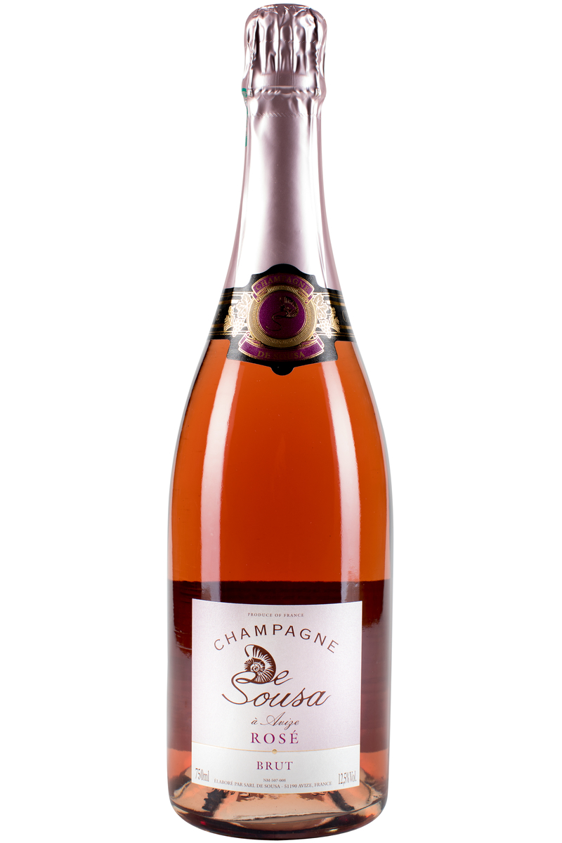 Champagne de Sousa Brut Rose Chardonnay Pinot Noir